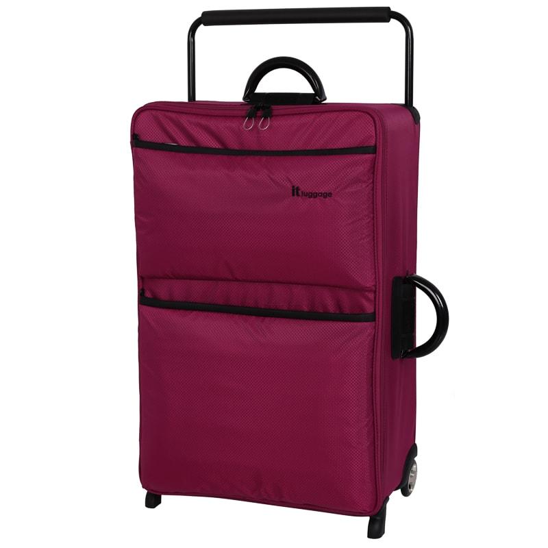 World's Lightest Suitcase 79cm - Wine  Luggage - B&M