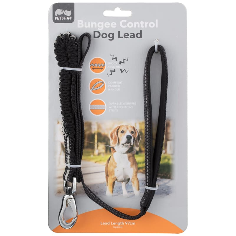 Bungee Control Lead - Black