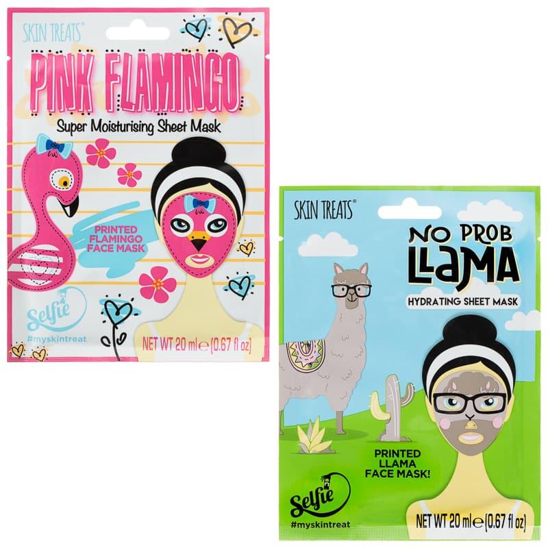 Skin Treats Printed Flamingo Sheet Mask