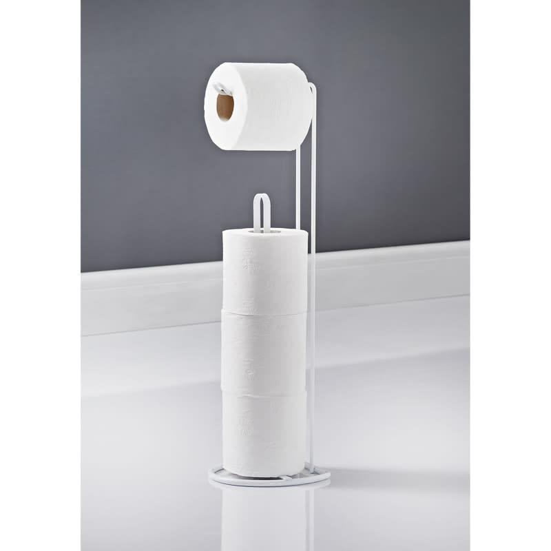 Addis Toilet Roll Holder Storage Caddy Bathroom Accessories B M