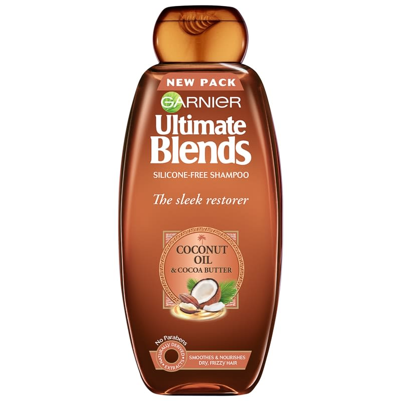 Garnier Ultimate Blends Sleek Shampoo 360ml