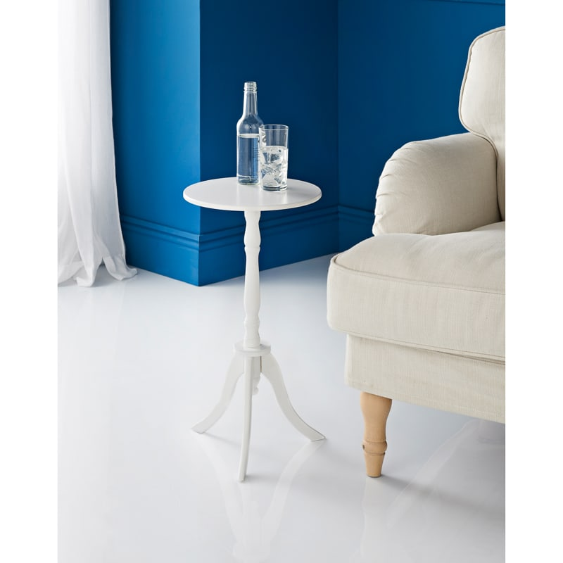 Isabelle Side Table - White