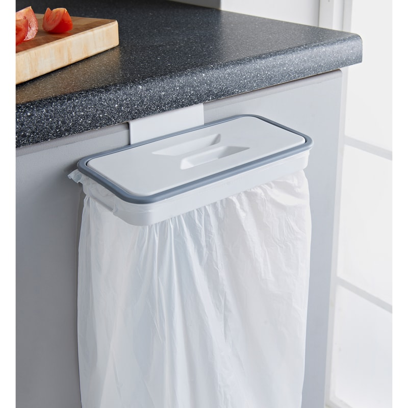Bin Liner Holder with Removable Lid