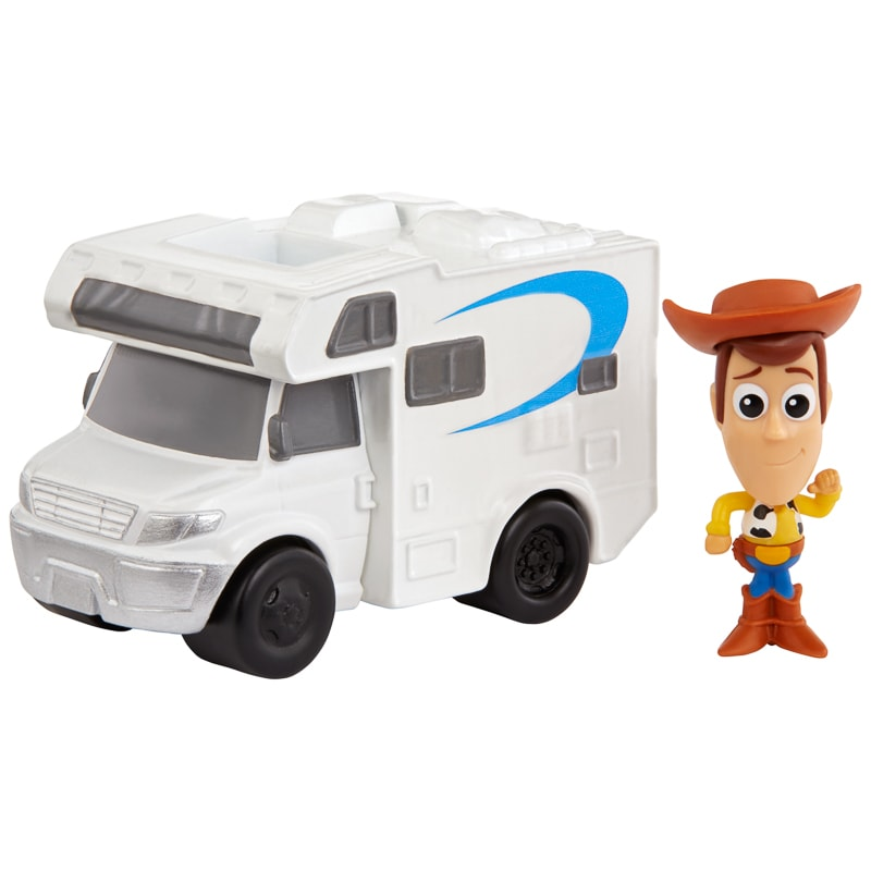 Toy Story Minis Woody & RV Figure