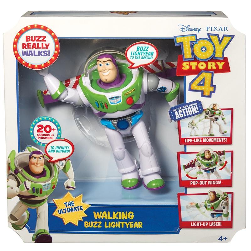 Disney Pixar Toy Story 4 Buzz The Ultimate Walking Buzz Lightyear Action Figure