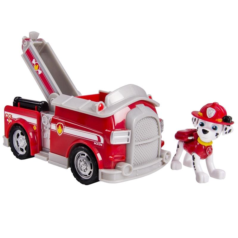 Paw Patrol Marshall's Fire Fightin' Truck Action Figure & Vehicle