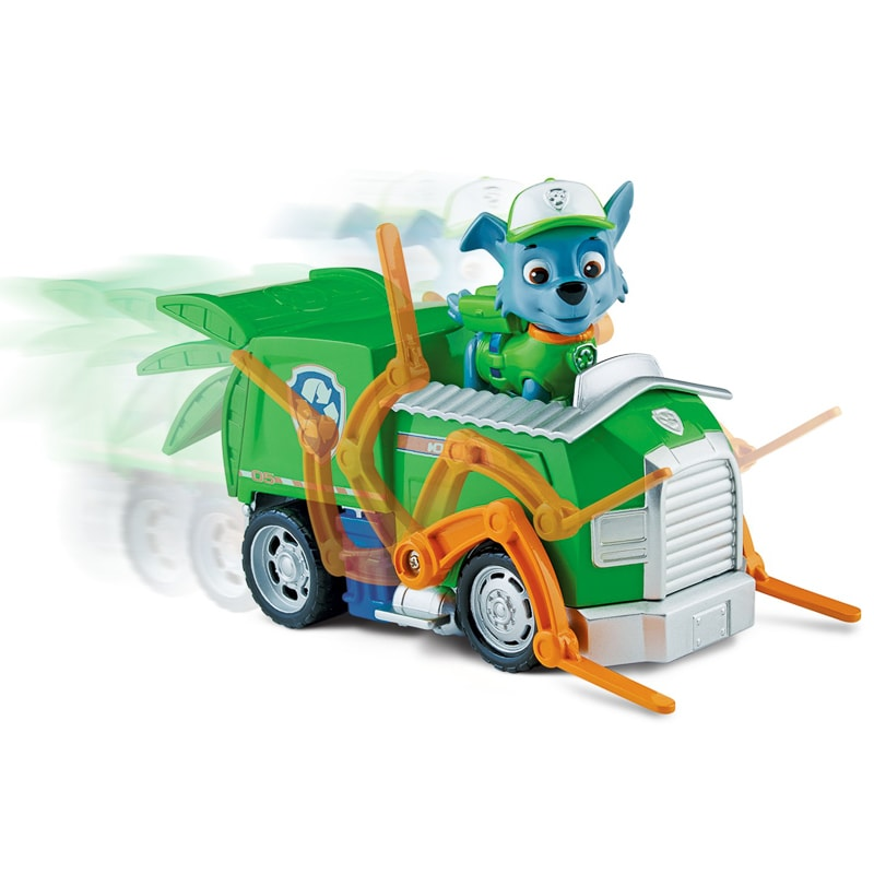 Paw Patrol Rocky's Recycling Truck Action Figure & Vehicle