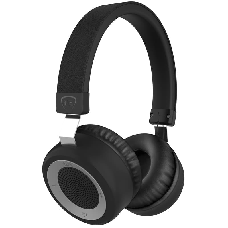 iHip Proton Bluetooth Headphones - Black
