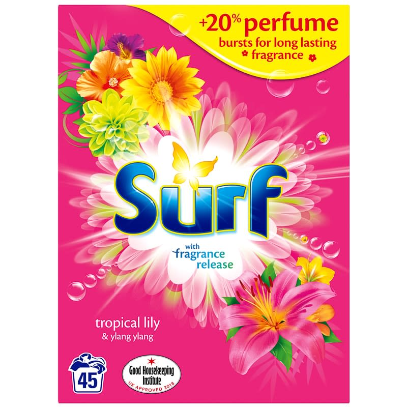 Surf Laundry Powder 2.92kg - Tropical Lily