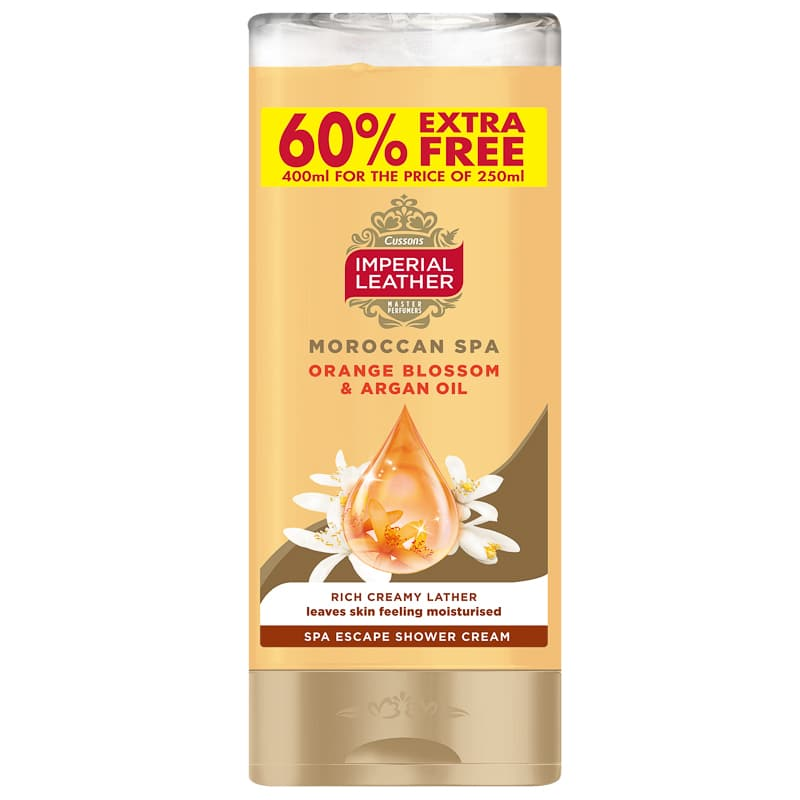 Imperial Leather Shower Cream 400ml - Orange Blossom