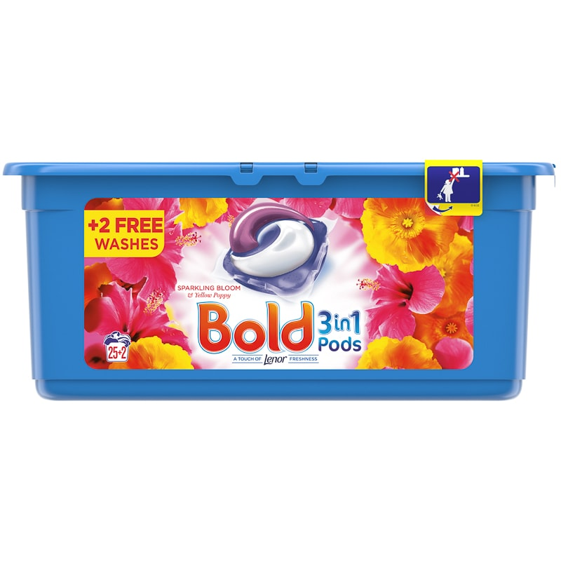 Bold 3-in-1 Pods 27pk - Sparkling Bloom