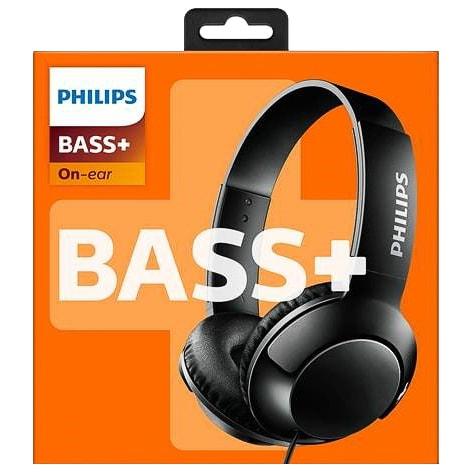 f0bc2bd7c48 Philips Bass+ On Ear Headphones | Headphones - B&M