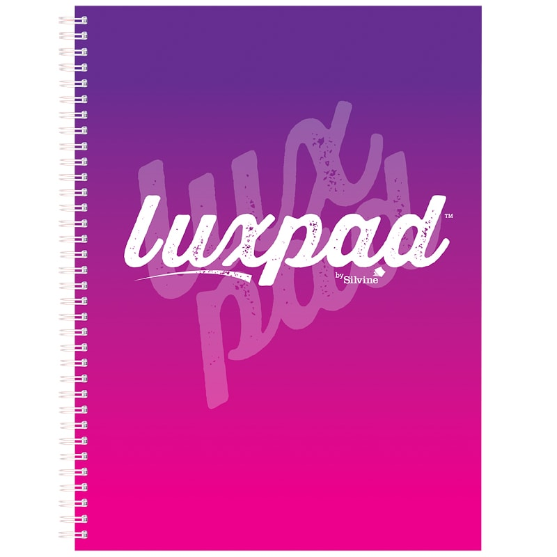 A4 Silvine Luxpad Notebook - Purple