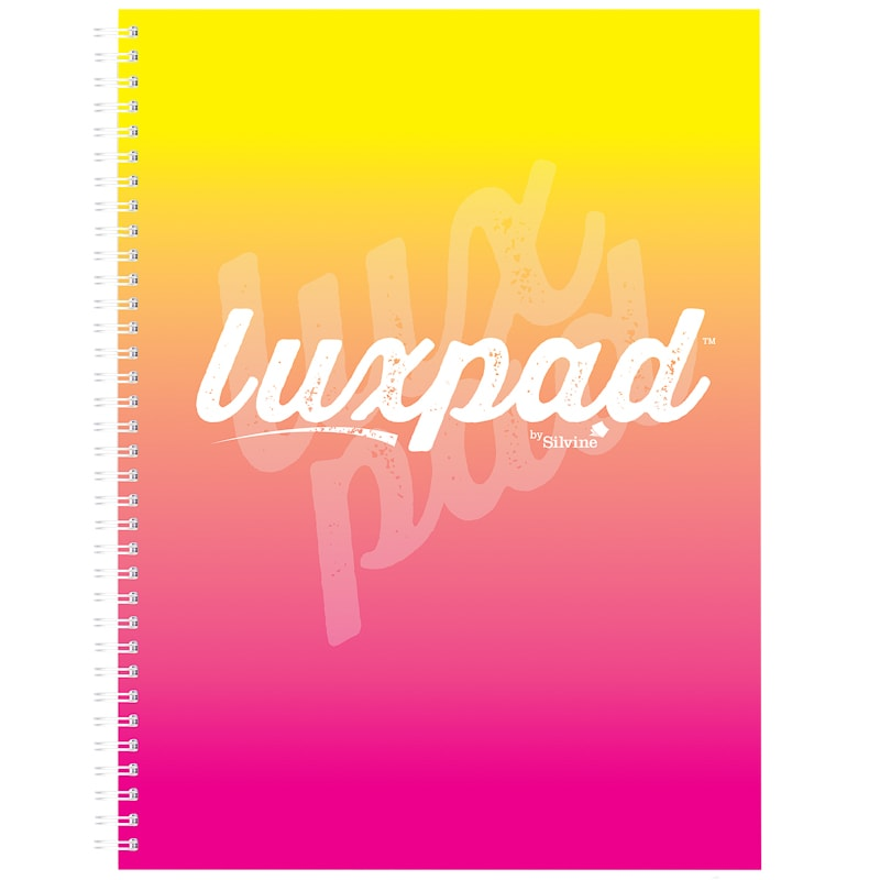 A4 Silvine Luxpad Notebook - Yellow