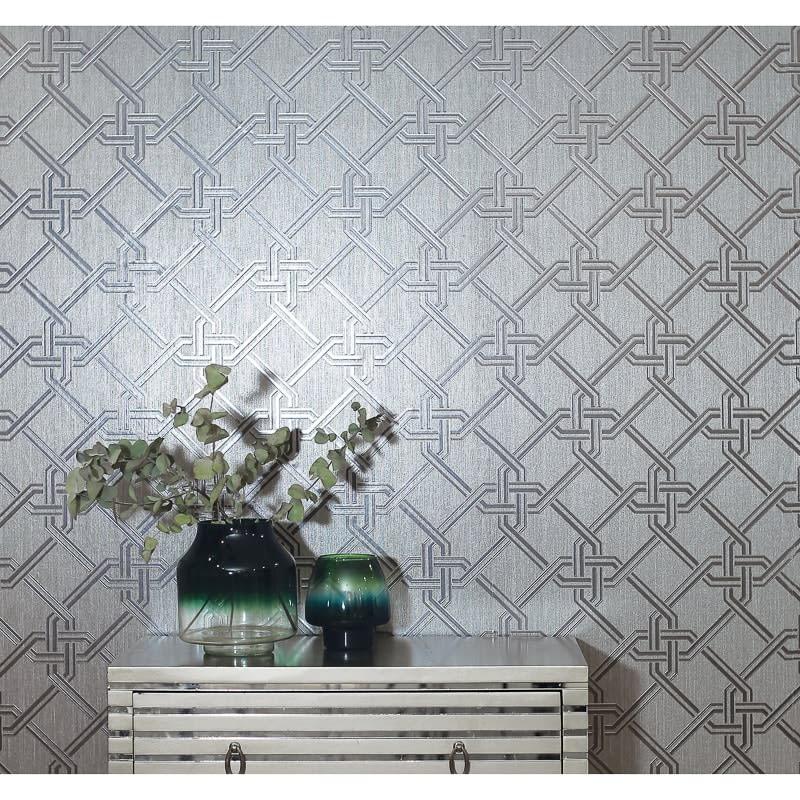 Gianni Wallpaper Silver