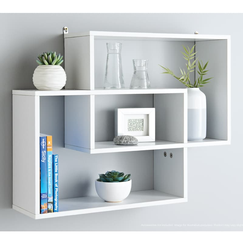 Terrific Lokken Display Wall Shelf White Home Interior And Landscaping Ferensignezvosmurscom