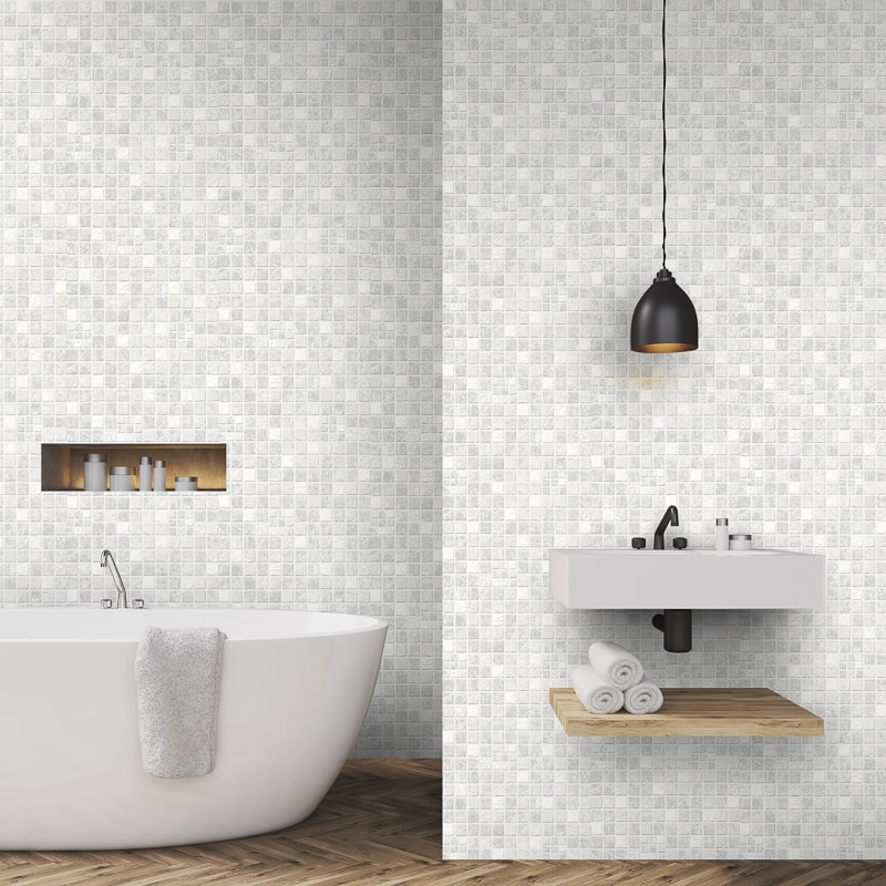 Contour Earthen Grey Wallpaper