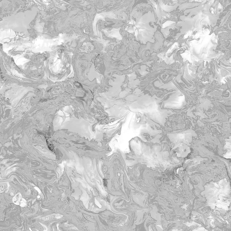 Metallic Marble Shimmer Wallpaper Silver