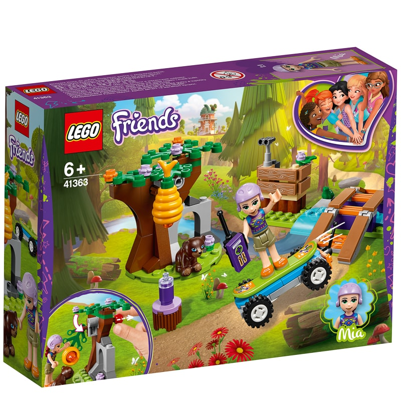 Forest Friends Lego Friends Mia's Mia's Lego Forest Adventure TXZPkwOiu