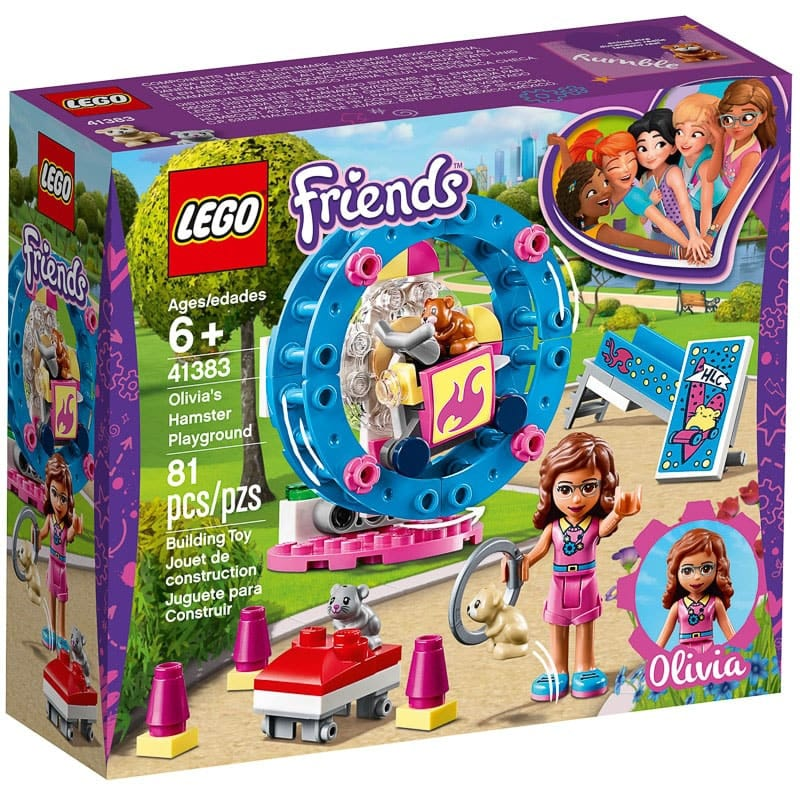 Lego Friends Olivia S Hamster Playground Construction
