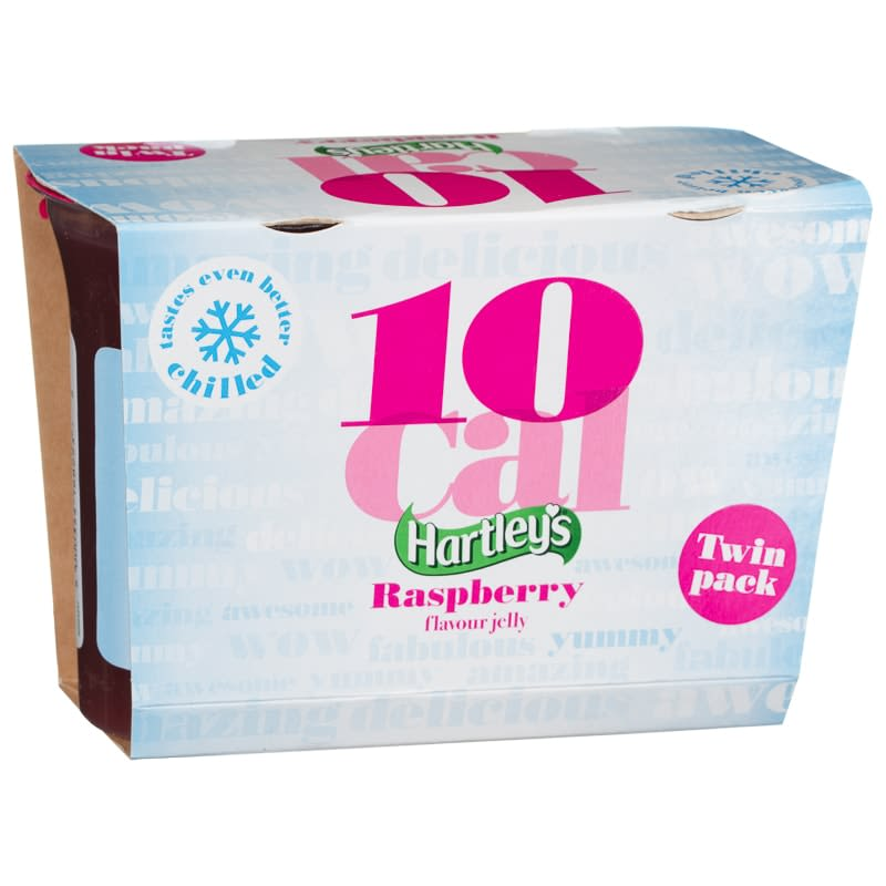 Hartley's 10 Calorie Jelly 2pk - Raspberry