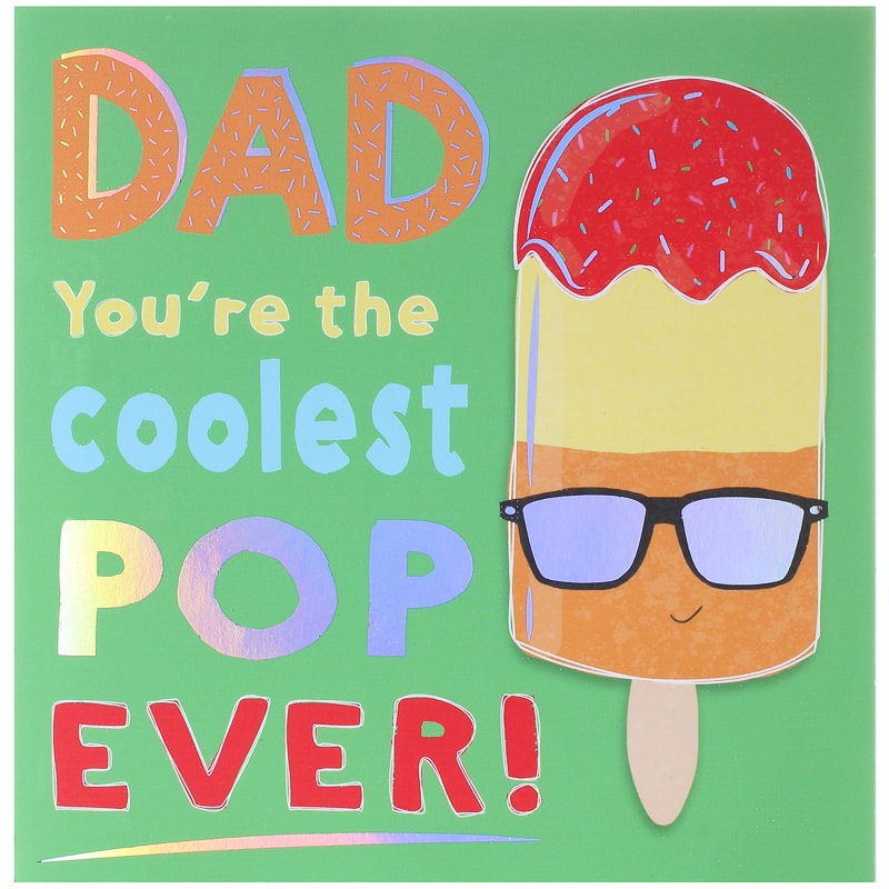 Father S Day Card Coolest Pop Cards B M