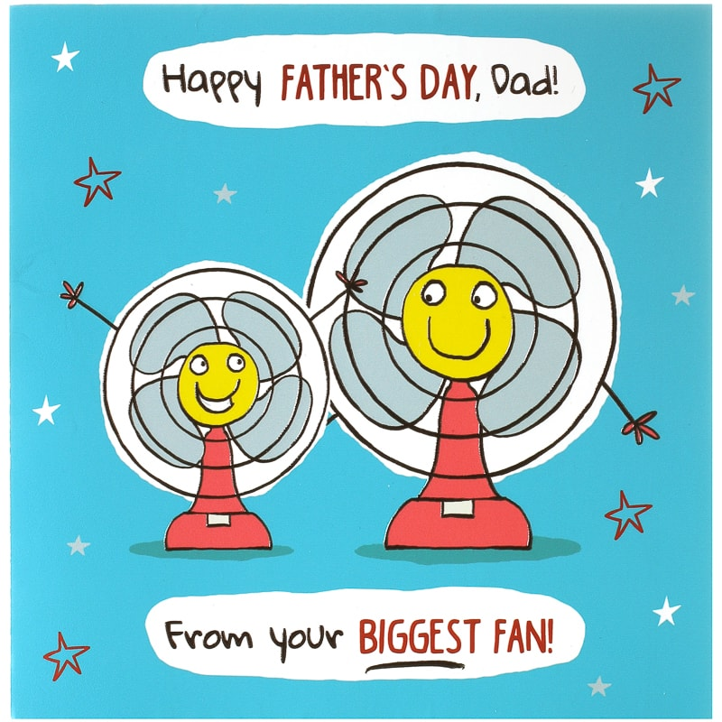 Father S Day Card Biggest Fan Cards B M