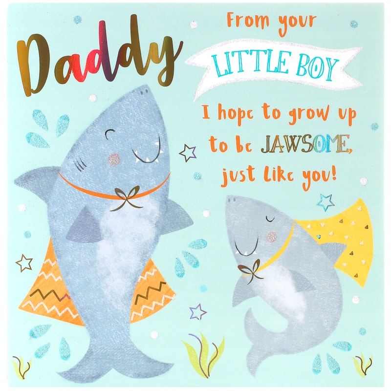 Father S Day Card Sharks Cards B M
