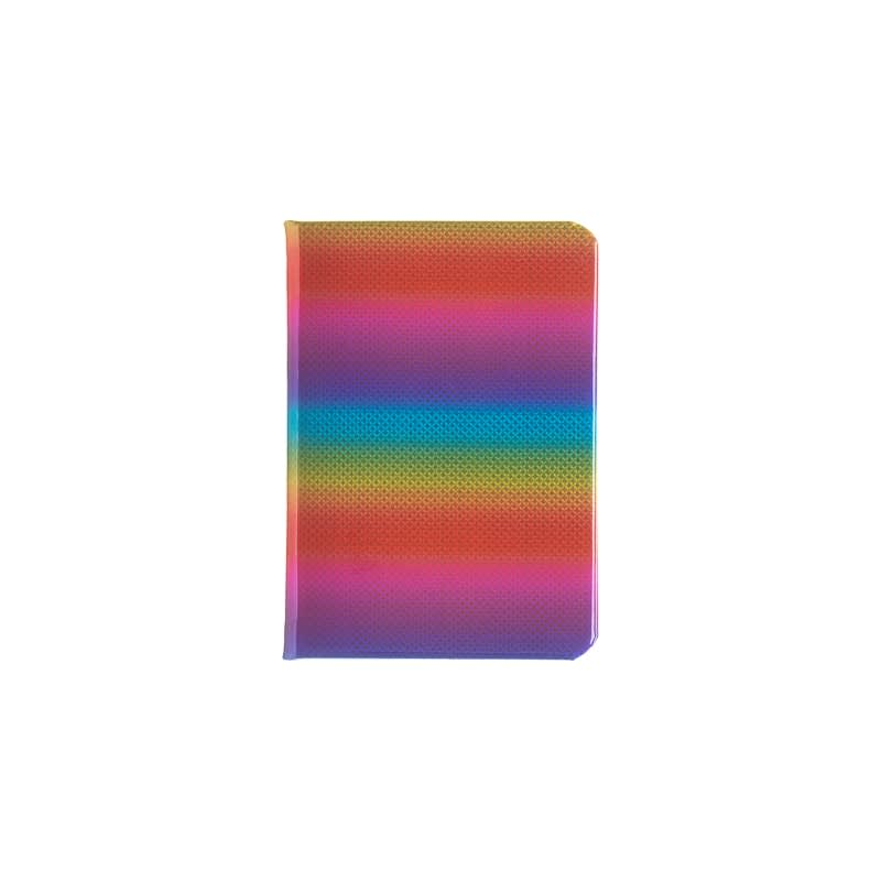 A5 Holographic Rainbow Notebook