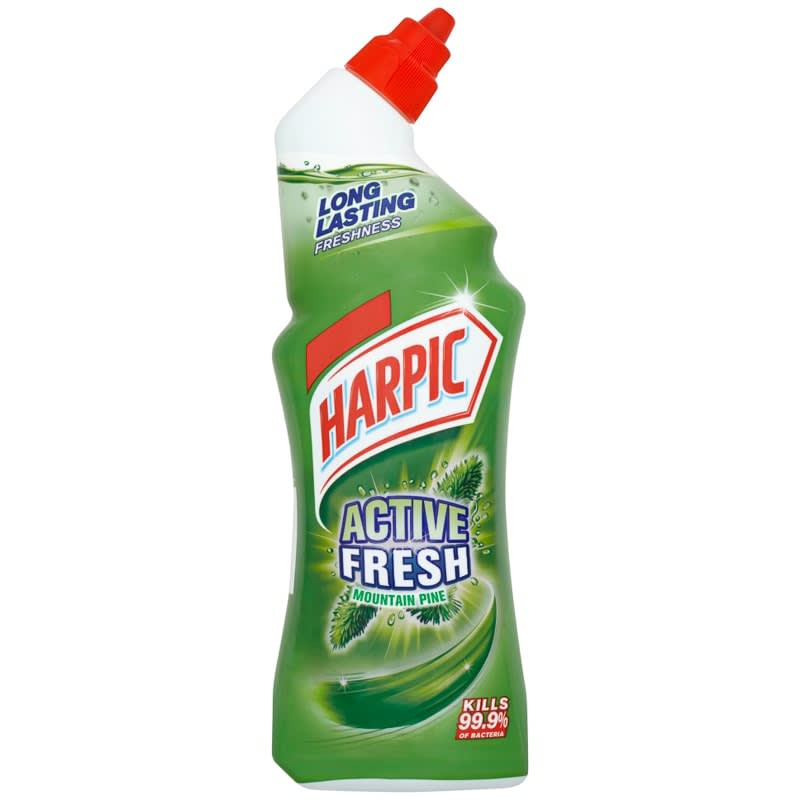 Harpic Active Fresh Toilet Cleaner 750ml - Mountain Pine