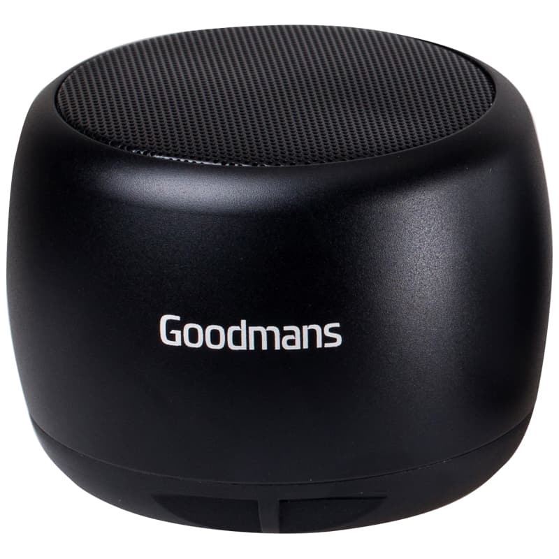 Goodmans Metal Series Bluetooth Speaker - Black