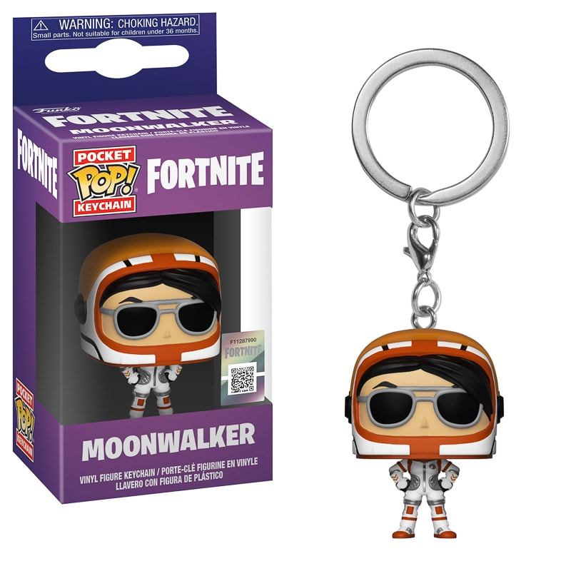 Pop! Fortnite Keychain - Moonwalker