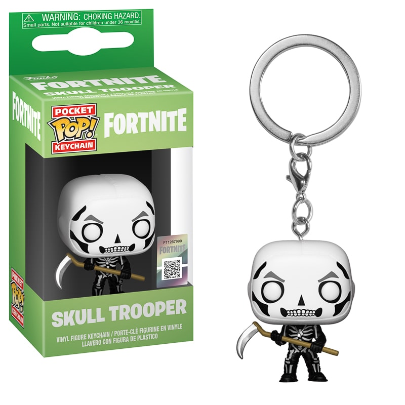 Pop! Fortnite Keychain - Skull Trooper