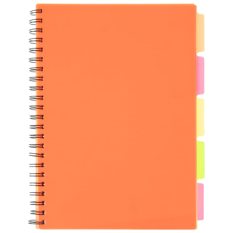 A4 Project Book - Orange