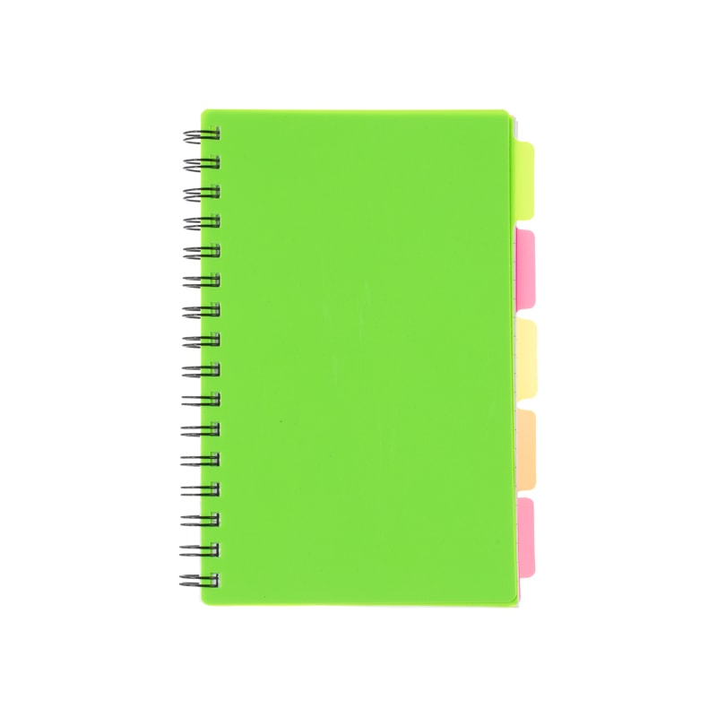 A5 Project Book - Green
