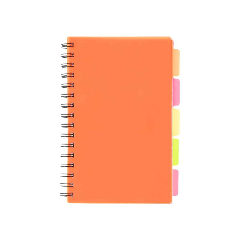 A5 Project Book - Orange