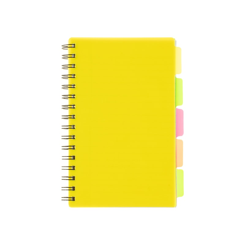 A5 Project Book - Yellow
