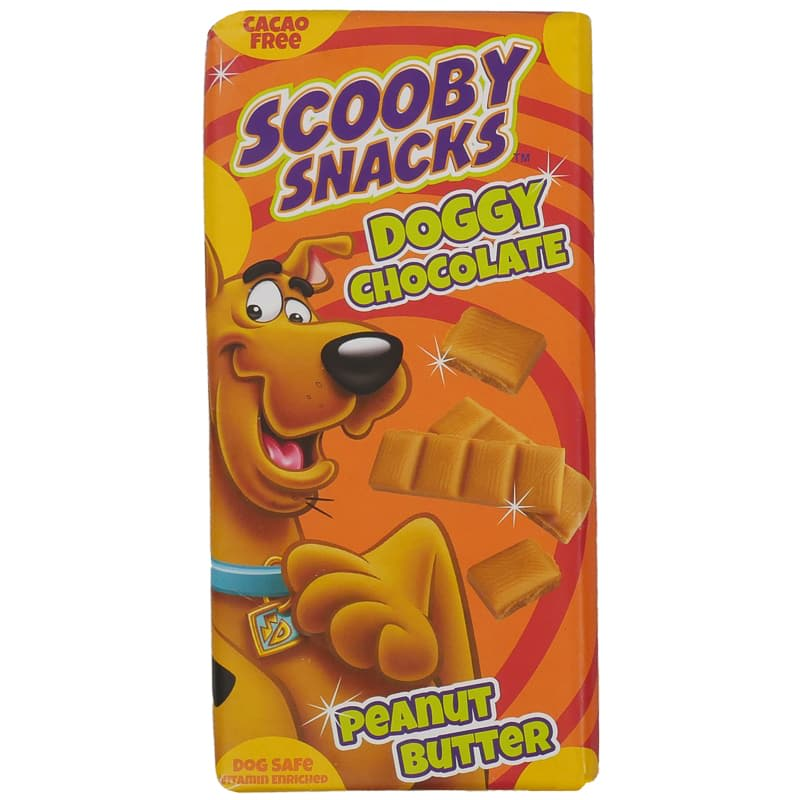 Scooby Snacks Doggy Chocolate Peanut Butter 100g