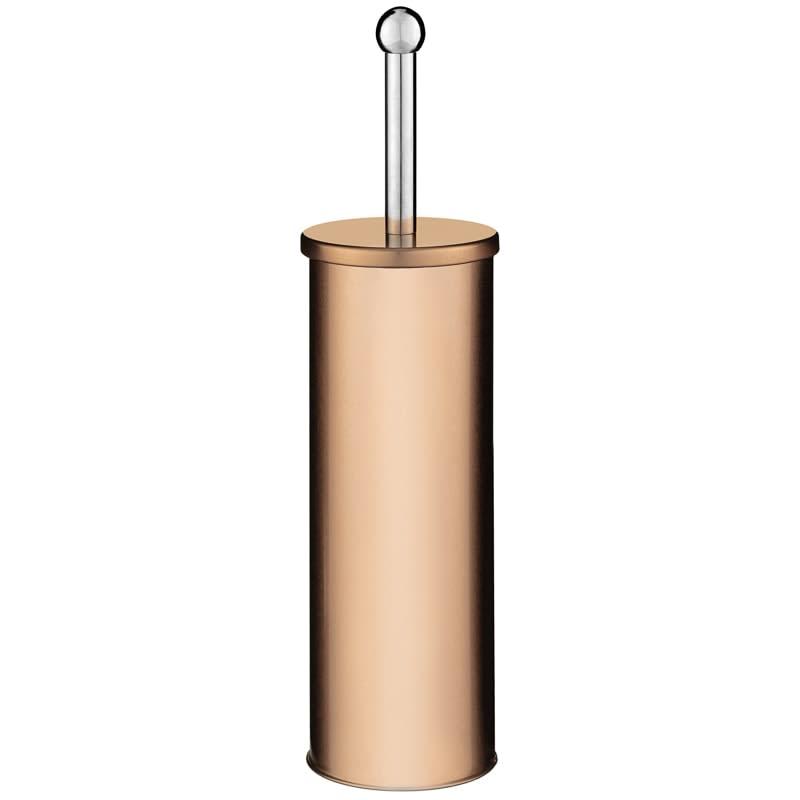 Copper Effect Metal Toilet Brush /& Holder