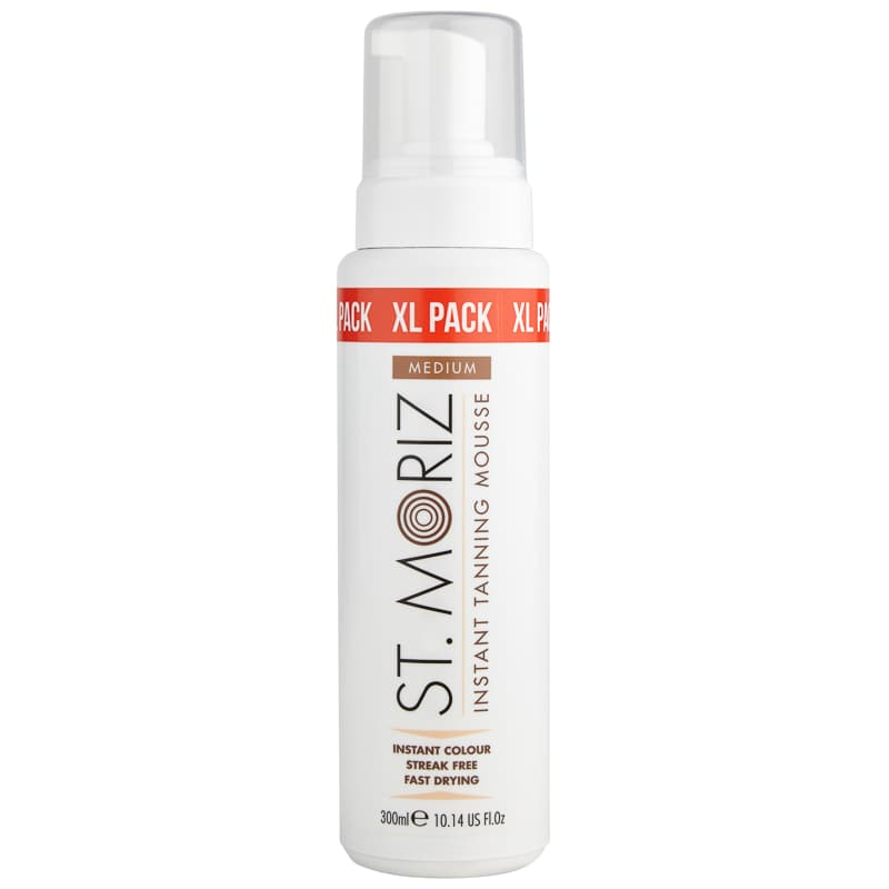 St Moriz Medium Instant Tan Mousse 300ml