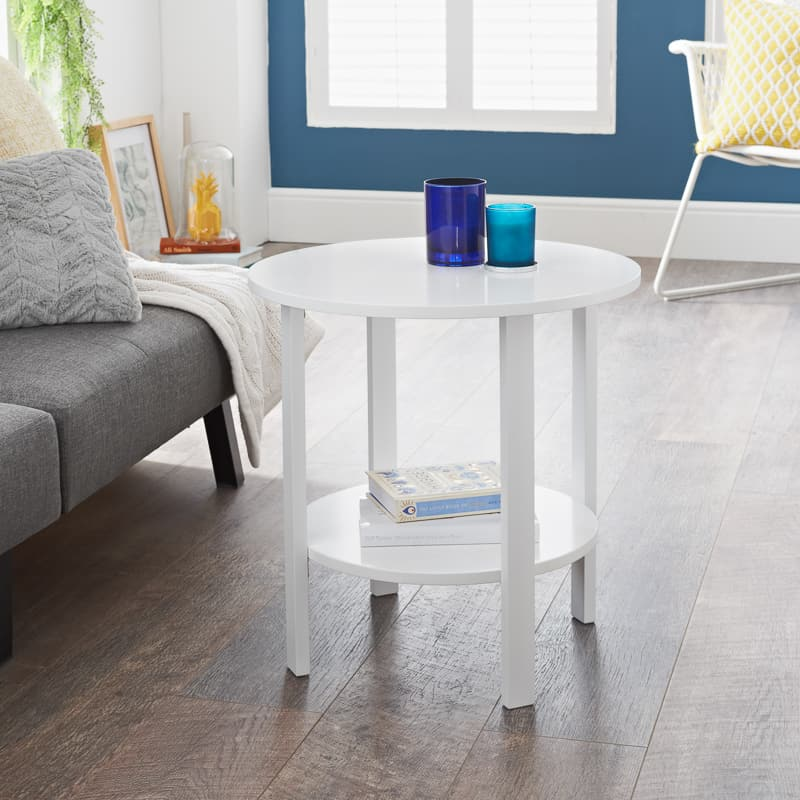 Lundes 2 Tier Side Table