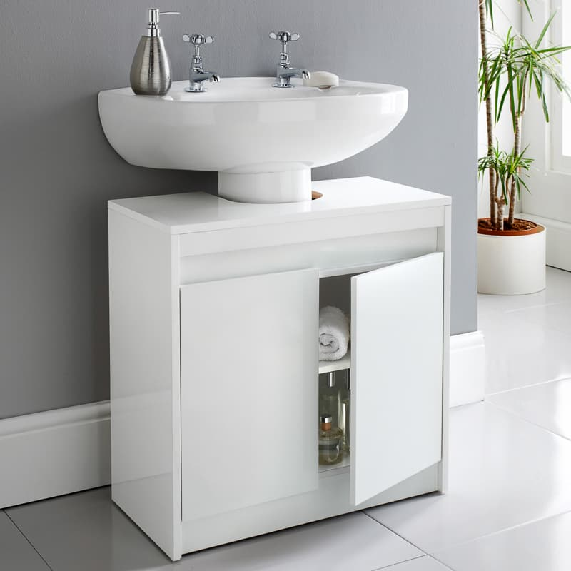 Norsk High Gloss Under Sink Cabinet