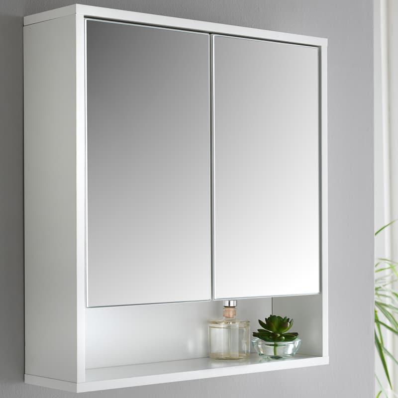 Norsk High Gloss Bathroom Mirror, Bathroom Mirrored Cabinets