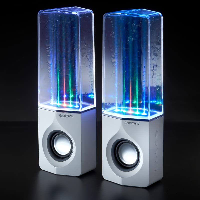Goodmans Water Speaker White Speakers B Amp M