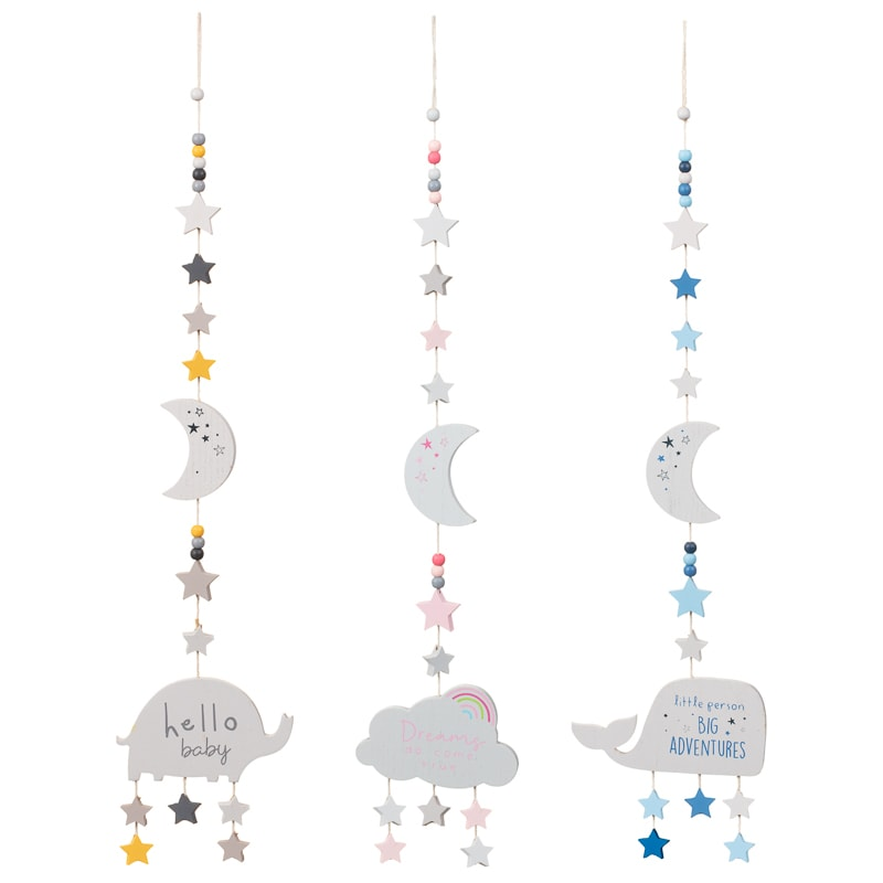 Nursery Hanging Plaque - Dreams Do Come True