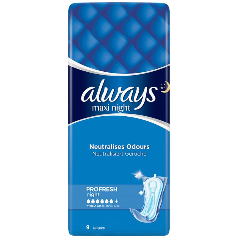 Always Maxi Night Pads 9pk