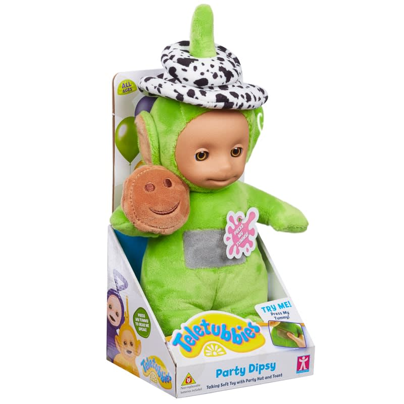 Party Teletubbies Talking Plush Toy Dipsy Baby