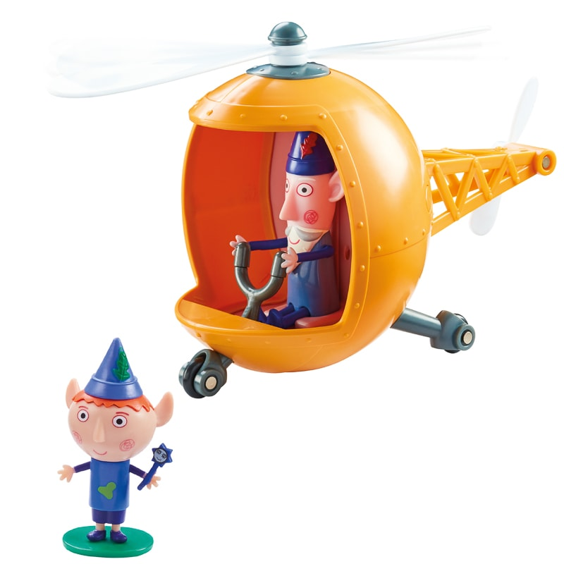 Ben & Holly's Elf Rescue Helicopter