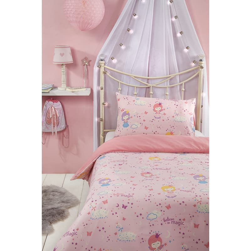 B&M Kids Single Duvet Set - Fairies