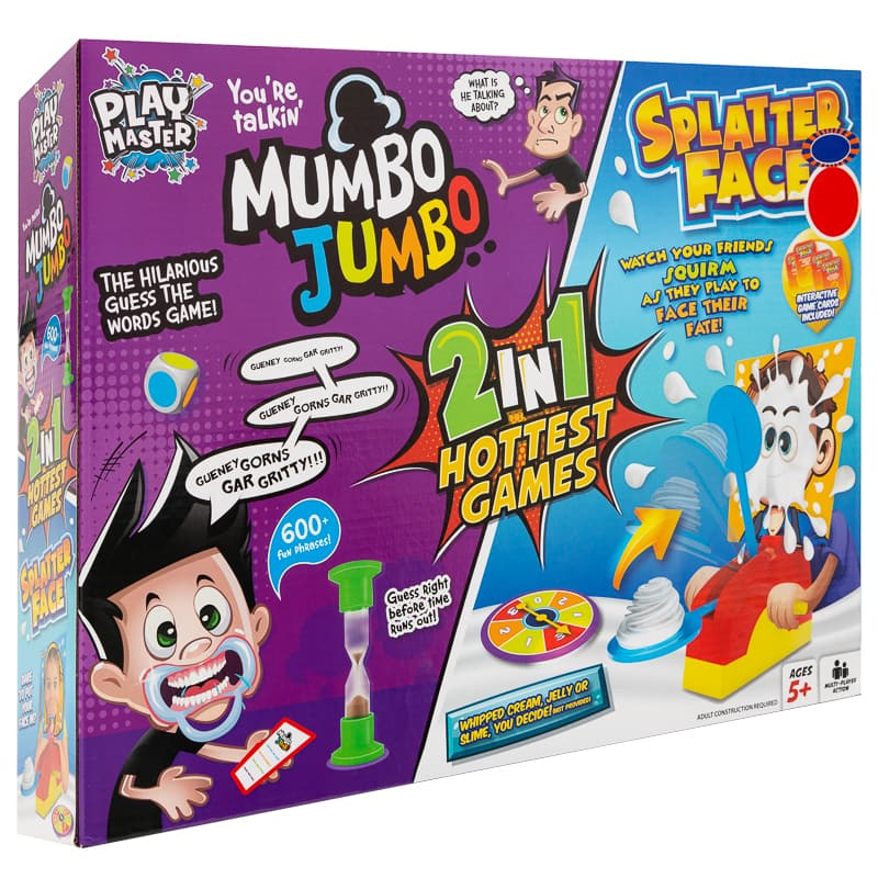 2-in-1 Mumbo Jumbo & Splatter Face